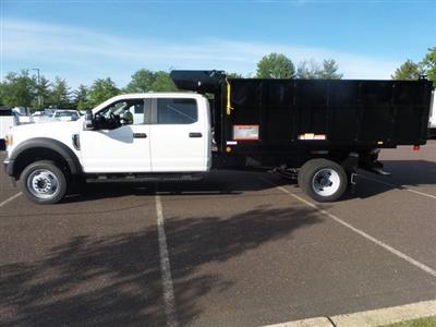2020 Ford F-450 Crew Cab DRW 4x4, Reading Landscaper SL Landscape Dump #FU0244 - photo 7