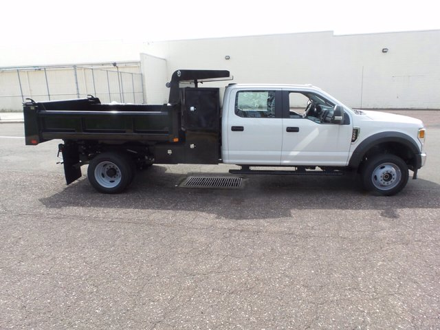 2020 Ford F-550 Crew Cab DRW 4x4, Rugby Eliminator LP Steel Dump Body #FU0249 - photo 4