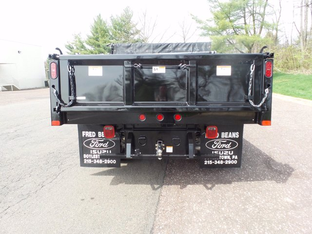 2020 Ford F-550 Crew Cab DRW 4x4, Rugby Eliminator LP Steel Dump Body #FU0249 - photo 7
