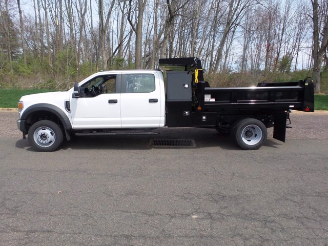 2020 Ford F-550 Crew Cab DRW 4x4, Rugby Eliminator LP Steel Dump Body #FU0249 - photo 7