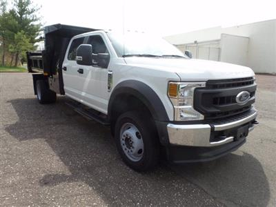 2020 Ford F-550 Crew Cab DRW 4x4, Rugby Eliminator LP Steel Dump Body #FU0249 - photo 1