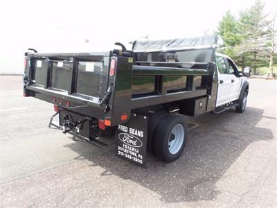2020 Ford F-550 Crew Cab DRW 4x4, Rugby Eliminator LP Steel Dump Body #FU0249 - photo 4
