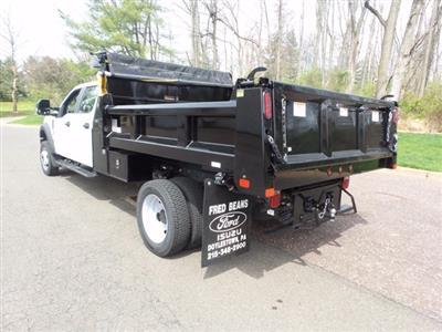 2020 Ford F-550 Crew Cab DRW 4x4, Rugby Eliminator LP Steel Dump Body #FU0249 - photo 2