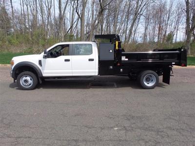 2020 Ford F-550 Crew Cab DRW 4x4, Rugby Eliminator LP Steel Dump Body #FU0249 - photo 8