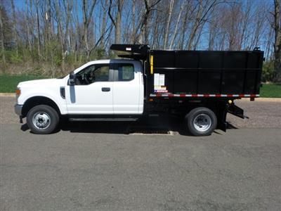 2020 F-350 Super Cab DRW 4x4, Morgan LandscaperPRO Landscape Dump #FU0254 - photo 8