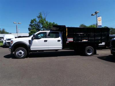 2020 Ford F-550 Crew Cab DRW 4x4, Reading Landscaper SL Landscape Dump #FU0267 - photo 6