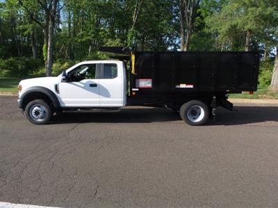 2020 Ford F-550 Super Cab DRW 4x4, Reading Landscaper SL Landscape Dump #FU0268 - photo 7
