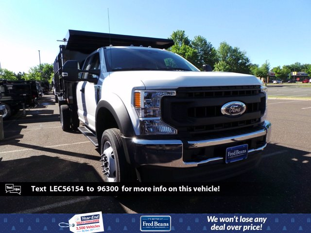 2020 Ford F-550 Super Cab DRW 4x4, Reading Landscaper SL Landscape Dump #FU0269 - photo 1