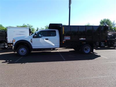 2020 Ford F-550 Super Cab DRW 4x4, Reading Landscaper SL Landscape Dump #FU0269 - photo 6