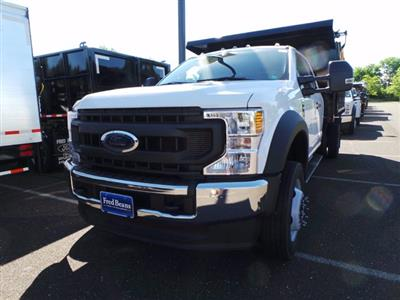 2020 Ford F-550 Super Cab DRW 4x4, Reading Landscaper SL Landscape Dump #FU0269 - photo 7