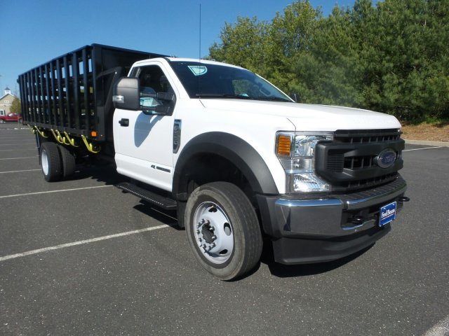 2020 Ford F-550 Regular Cab DRW RWD, PJ's Stake Bed #FU0274 - photo 1