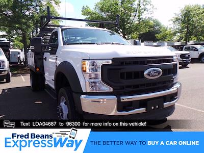 2020 Ford F-450 Regular Cab DRW 4x4, Freedom Contractor Body #FU0308 - photo 1