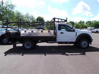 2020 Ford F-450 Regular Cab DRW 4x4, Freedom ProContractor Body Platform Body #FU0308 - photo 3