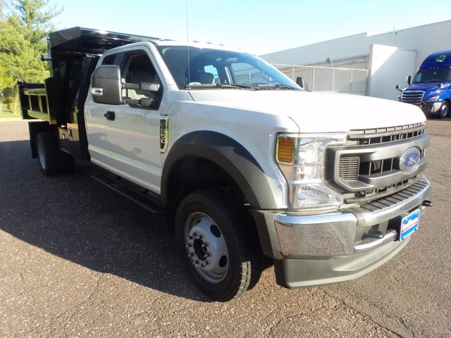 2020 Ford F-550 Super Cab DRW 4x4, Rugby Eliminator LP Steel Dump Body #FU0313 - photo 4