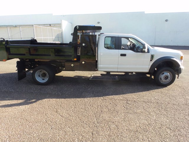 2020 Ford F-550 Super Cab DRW 4x4, Rugby Eliminator LP Steel Dump Body #FU0313 - photo 5