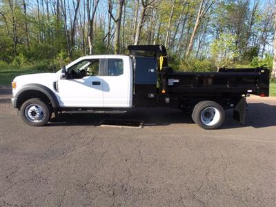 2020 Ford F-550 Super Cab DRW 4x4, Rugby Eliminator LP Steel Dump Body #FU0313 - photo 8