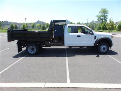 2020 Ford F-550 Super Cab DRW 4x4, Rugby Eliminator LP Steel Dump Body #FU0314 - photo 4