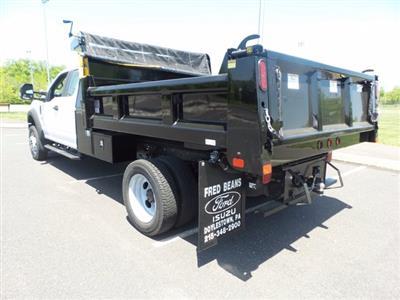 2020 Ford F-550 Super Cab DRW 4x4, Rugby Eliminator LP Steel Dump Body #FU0314 - photo 6