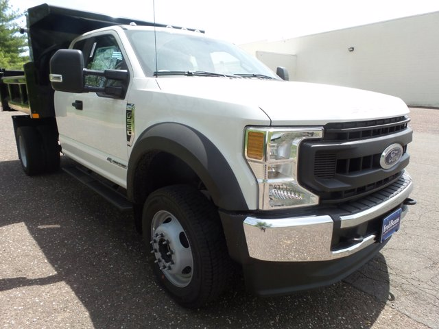 2020 Ford F-550 Super Cab DRW 4x4, Rugby Eliminator LP Stainless Steel Dump Body #FU0315 - photo 1