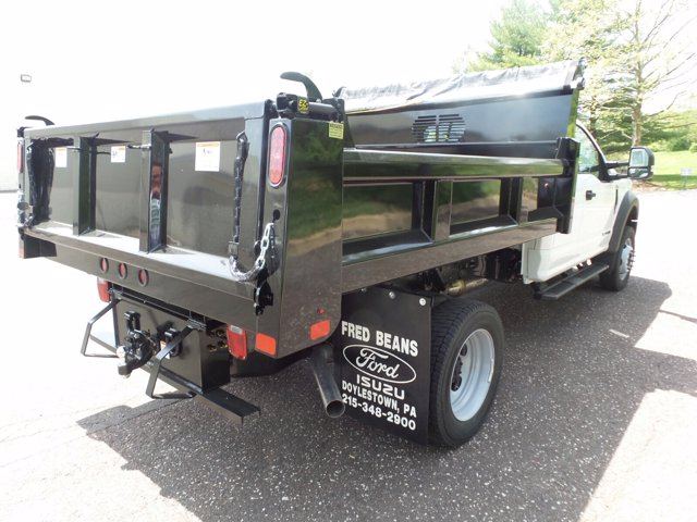 2020 Ford F-550 Super Cab DRW 4x4, Rugby Eliminator LP Stainless Steel Dump Body #FU0315 - photo 2