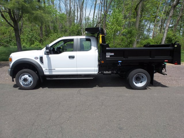 2020 Ford F-550 Super Cab DRW 4x4, Rugby Eliminator LP Stainless Steel Dump Body #FU0315 - photo 7