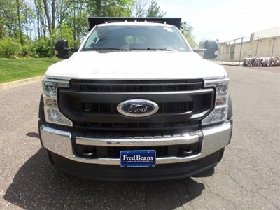 2020 Ford F-550 Super Cab DRW 4x4, Rugby Eliminator LP Stainless Steel Dump Body #FU0315 - photo 3