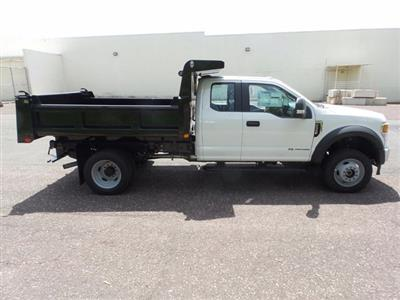 2020 Ford F-550 Super Cab DRW 4x4, Rugby Eliminator LP Stainless Steel Dump Body #FU0315 - photo 4