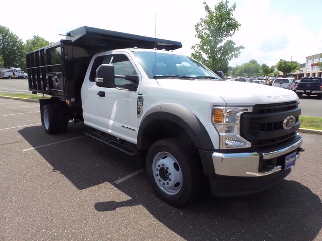 2020 Ford F-550 Super Cab DRW 4x4, Rugby Eliminator LP Steel Landscape Dump #FU0320 - photo 1