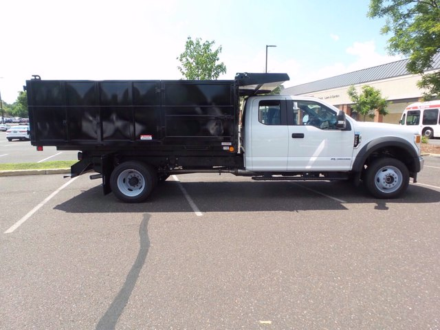 2020 Ford F-550 Super Cab DRW 4x4, Rugby Eliminator LP Steel Landscape Dump #FU0320 - photo 4