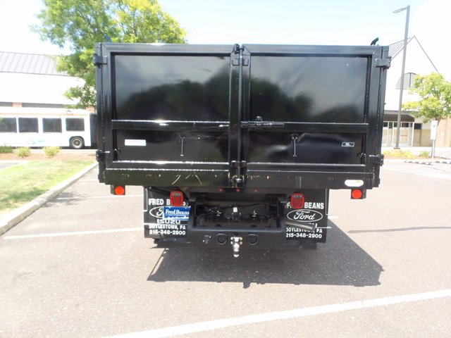 2020 Ford F-550 Super Cab DRW 4x4, Rugby Eliminator LP Steel Landscape Dump #FU0320 - photo 5
