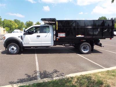 2020 Ford F-550 Super Cab DRW 4x4, Rugby Eliminator LP Steel Landscape Dump #FU0320 - photo 8