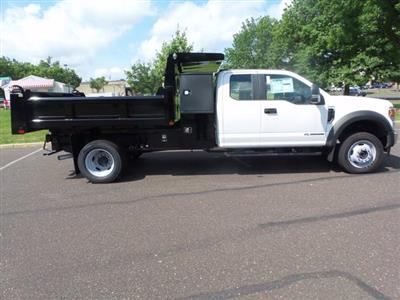 2020 Ford F-550 Super Cab DRW 4x4, Rugby Eliminator LP Steel Dump Body #FU0322 - photo 4