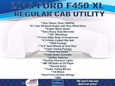 2013 Ford F-450 Regular Cab DRW 4x2, Service Body #FU03411 - photo 4