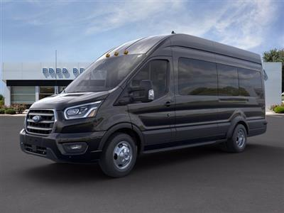 2020 Ford Transit 350 HD High Roof DRW RWD, Passenger Wagon #FU0384 - photo 3
