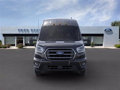 2020 Ford Transit 350 HD High Roof DRW RWD, Passenger Wagon #FU0384 - photo 8