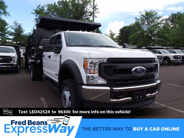 2020 Ford F-450 Crew Cab DRW 4x4, Reading Landscaper SL Landscape Dump #FU0386 - photo 1