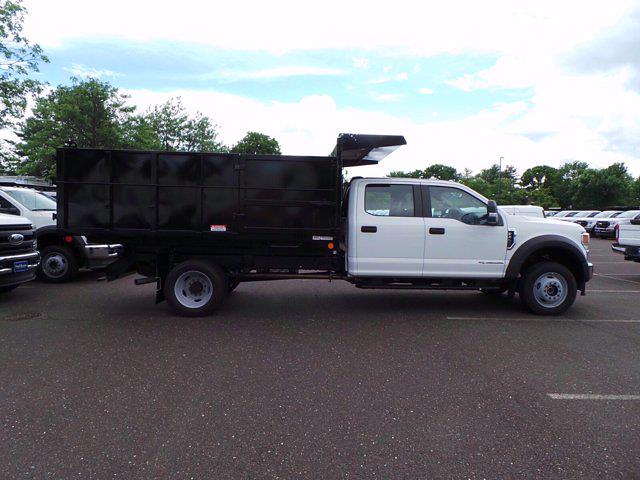 2020 Ford F-450 Crew Cab DRW 4x4, Reading Landscaper SL Landscape Dump #FU0386 - photo 3