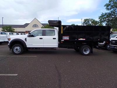 2020 Ford F-450 Crew Cab DRW 4x4, Reading Landscaper SL Landscape Dump #FU0386 - photo 4