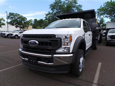2020 Ford F-450 Crew Cab DRW 4x4, Reading Landscaper SL Landscape Dump #FU0386 - photo 5