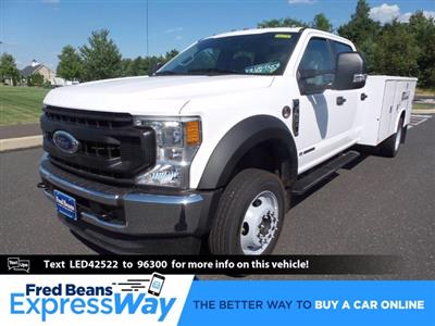 2020 Ford F-450 Crew Cab DRW 4x4, Reading Classic II Steel Service Body #FU0398 - photo 1