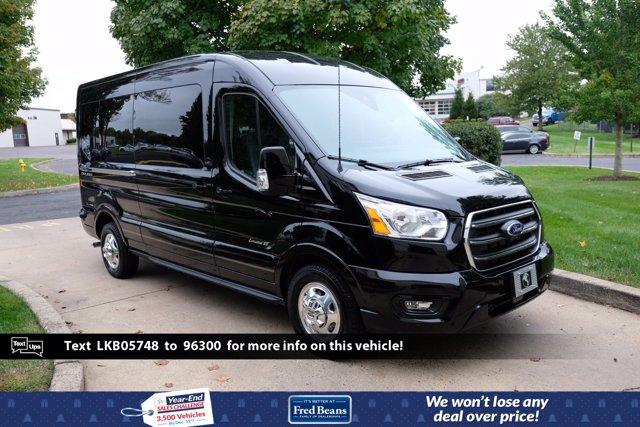 2020 Ford Transit 250 Med Roof AWD, Passenger Wagon #FU0417 - photo 1