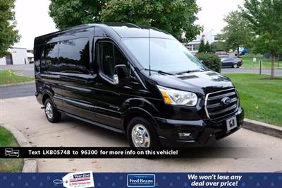2020 Ford Transit 250 Med Roof AWD, Passenger Wagon #FU0417 - photo 1