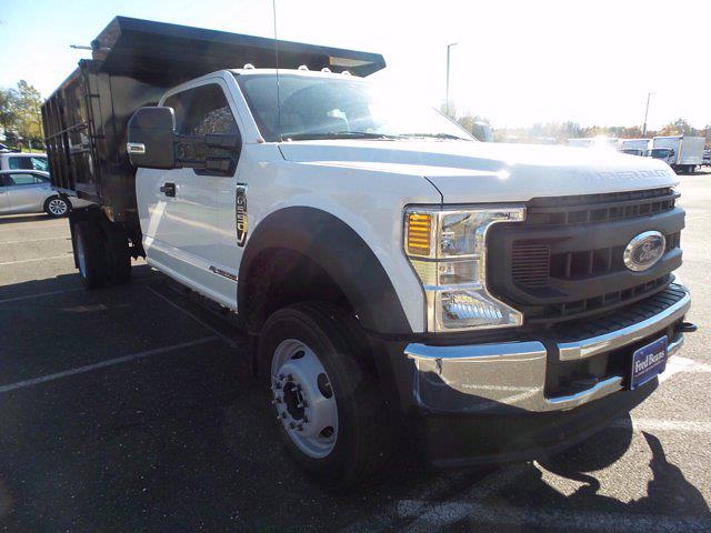 2020 Ford F-550 Super Cab DRW 4x4, Reading Landscaper SL Landscape Dump #FU0521 - photo 4