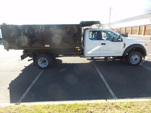 2020 Ford F-550 Super Cab DRW 4x4, Reading Landscaper SL Landscape Dump #FU0521 - photo 6