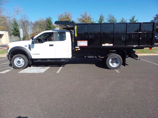 2020 Ford F-550 Super Cab DRW 4x4, Reading Landscaper SL Landscape Dump #FU0521 - photo 8