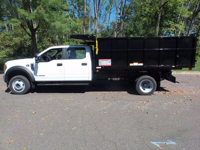 2020 Ford F-450 Crew Cab DRW 4x4, Reading Landscape Dump #FU0526 - photo 8