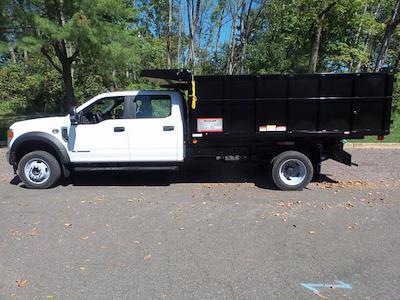 2020 Ford F-450 Crew Cab DRW 4x4, Reading Landscaper SL Landscape Dump #FU0526 - photo 8