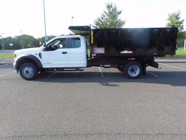 2020 Ford F-550 Super Cab DRW 4x4, Reading Landscaper SL Landscape Dump #FU0551 - photo 8