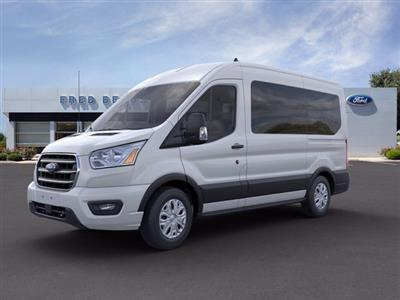 2020 Ford Transit 150 Med Roof 4x2, Passenger Wagon #FU0556 - photo 3