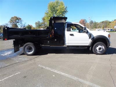 2020 Ford F-550 Regular Cab DRW 4x4, Rugby Eliminator LP Steel Dump Body #FU0573 - photo 5